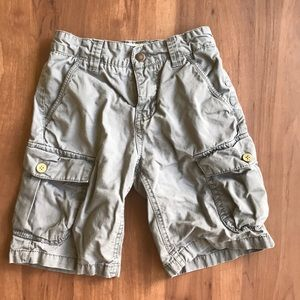Lucky Brand Charcoal Gray Cargo Shorts - 7